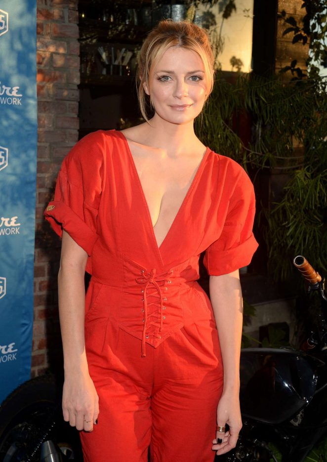 Mischa Barton - Esquire Network Wrench Against the Machine and Joyride Event in Venice