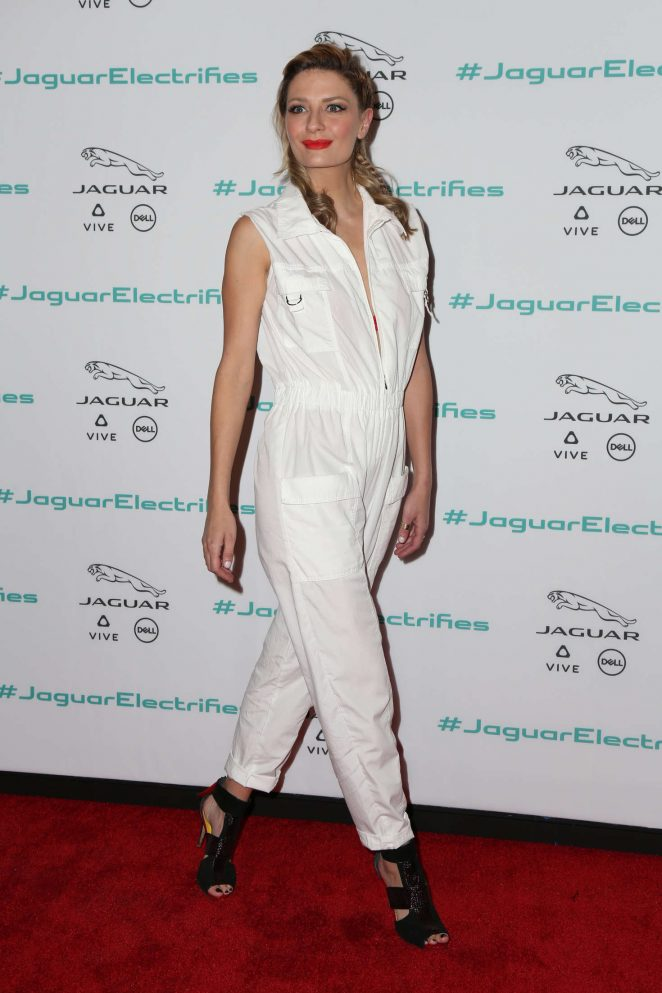 Mischa Barton - Jaguar For Next Era Vehicle Unveiling Event in Los Angeles