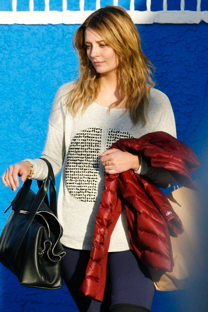 Mischa Barton - Leaves DWTS Studio in Hollywood