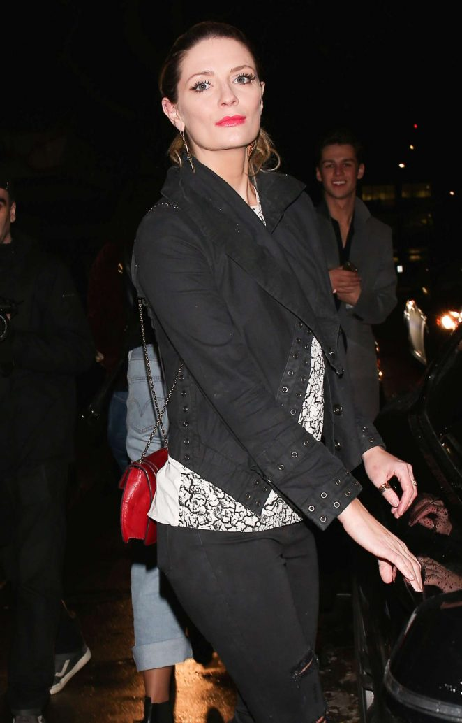 Mischa Barton - Leaves The Peppermint Club in West Hollywod