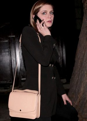 Mischa Barton - Leaving the Peppermint Club in Los Angeles