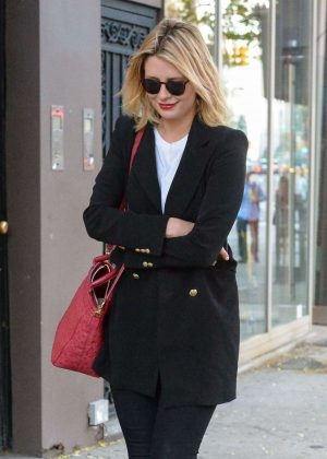 Mischa Barton out in Manhattan