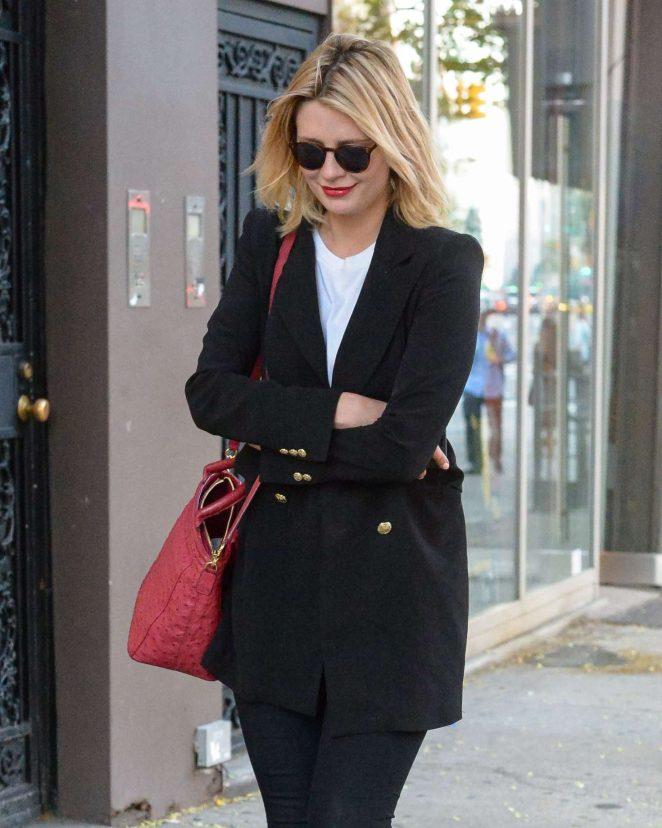 Mischa Barton out in Manhattan