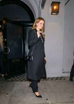 Mischa Barton - Outside Craig's Restaurant in West Hollywood
