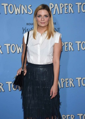 Mischa Barton - 'Paper Towns' Premiere in NYC