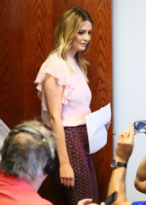 Mischa Barton - Press conference at the Bloom Law Firm in Woodland Hills