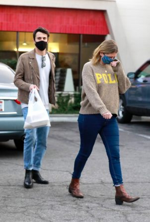 Mischa Barton - Seen at restaurant in Los Feliz