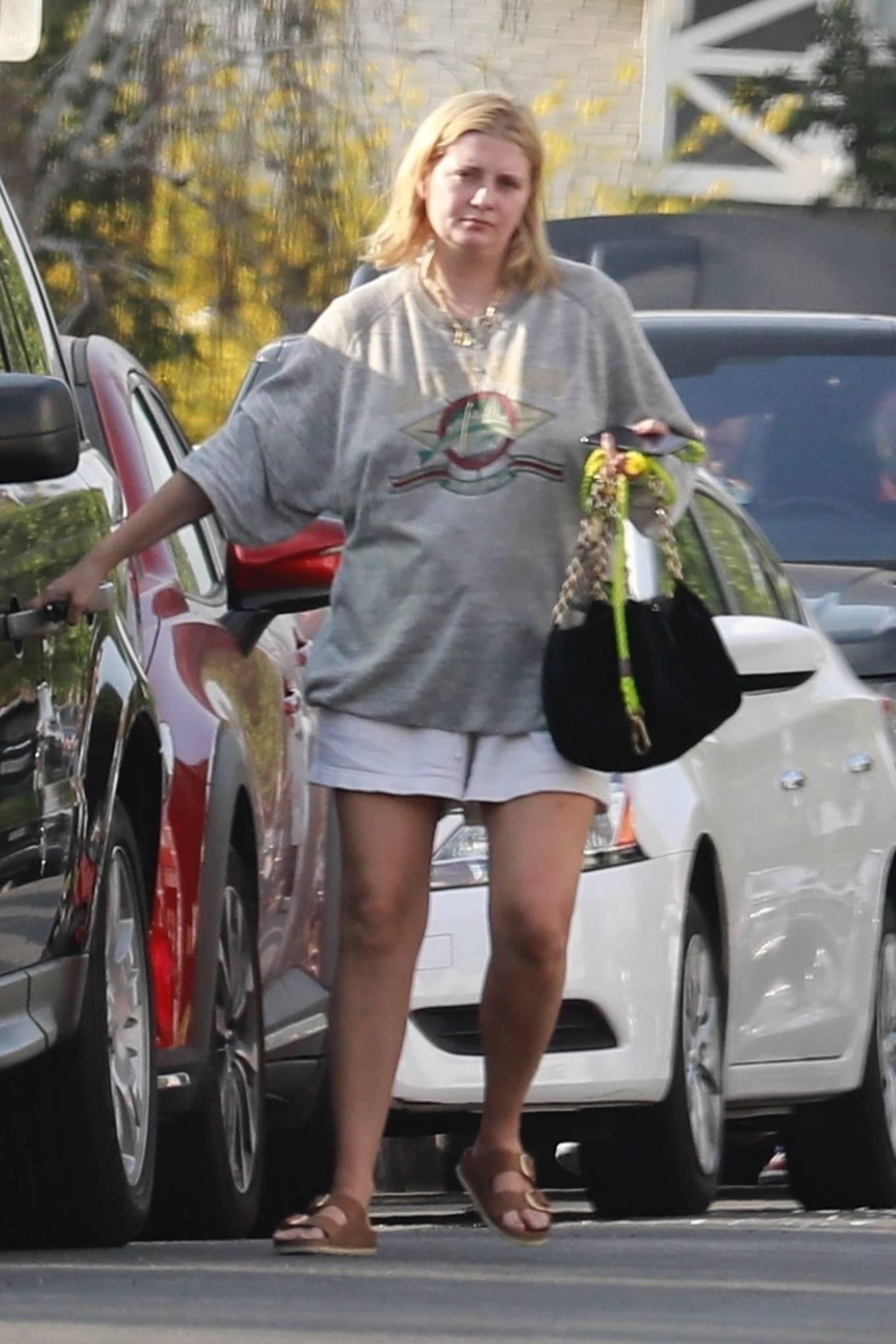 Mischa Barton 2021 : Mischa Barton – Takes her dog for a walk in Los Feliz-06
