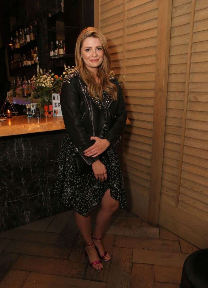 Mischa Barton - Wild Spirit Fragrance Holiday Collection Dinner in West Hollywood