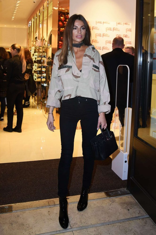 Misse Beqiri - Folli Follie Concept Store Launch Party in London