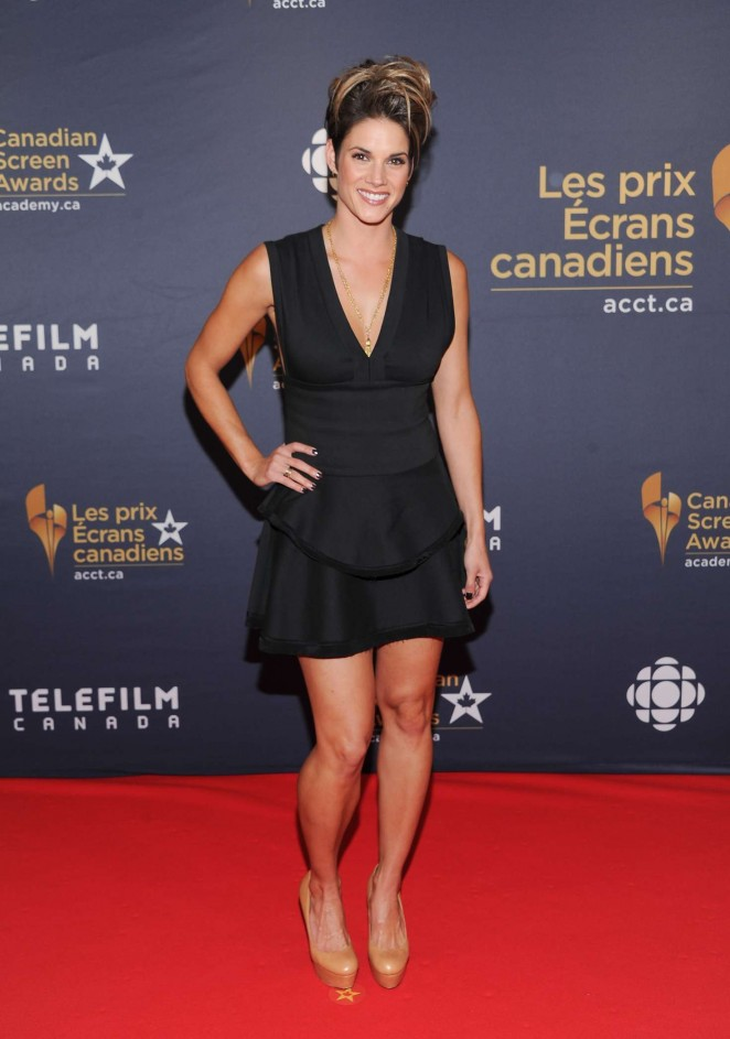 Missy Peregrym - 2016 Canadian Screen Awards in Toronto