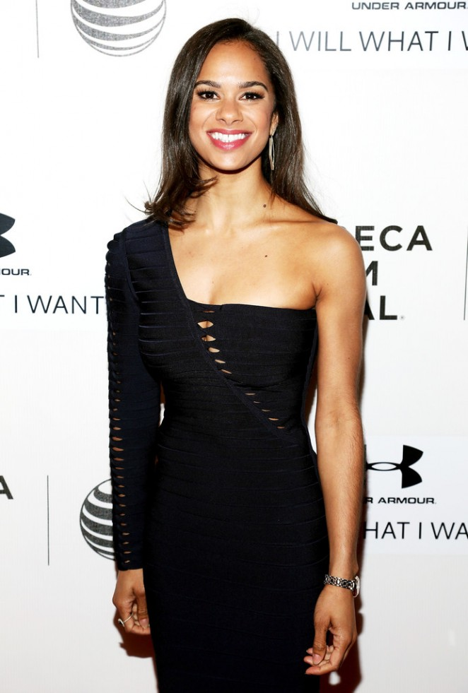 "Misty Copeland - ""A Ballerina's Tale"" Premiere at the 2015 Tribeca Film Festival"