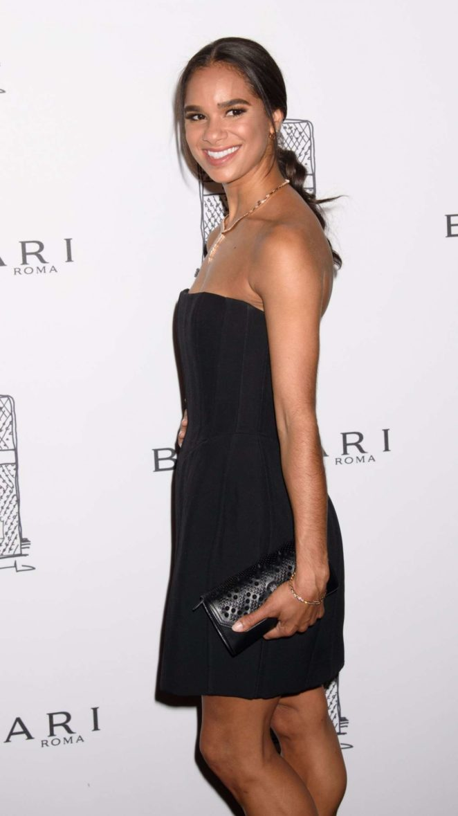 Misty Copeland - Bulgari Flagship Store Opening Celebration in NY