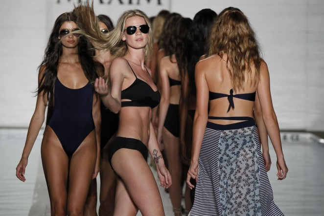 Models - Maxim Swim Show S/S 2016 in Miami