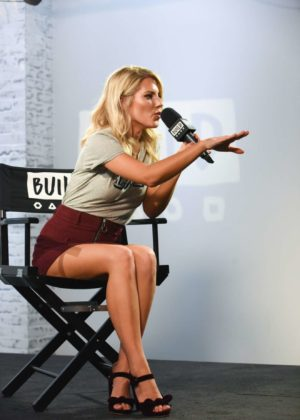 Mollie King - At AOL Build in London