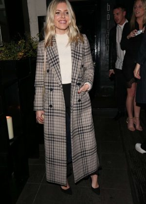 Mollie King at Bo Lang Restaurant in Chelsea