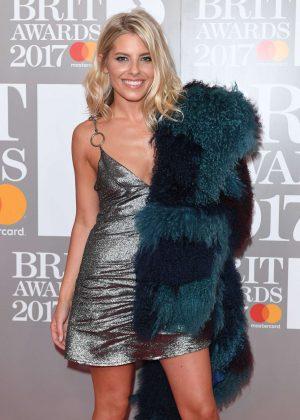 Mollie King - BRIT Awards 2017 in London