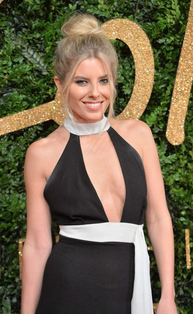 Mollie King - British Fashion Awards 2015 in London