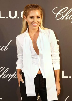 Mollie King - Cocktail Opening Of The Chopard Exhibition in London