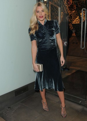 Mollie King - Dior Pop-up Launch Party in London