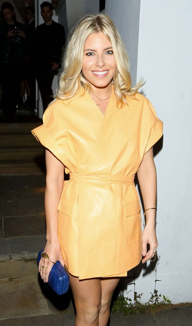 Mollie King - Dom Perignon Party in London