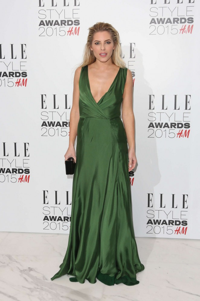 Mollie King - Elle Style Awards 2015 in London