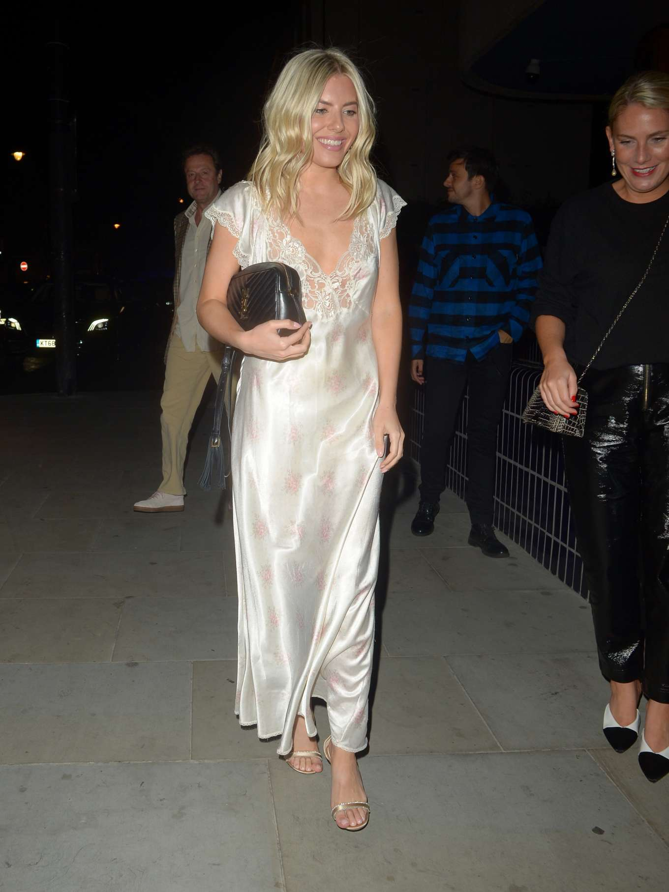 Mollie King - Love and YouTube Fashion Week Party in London