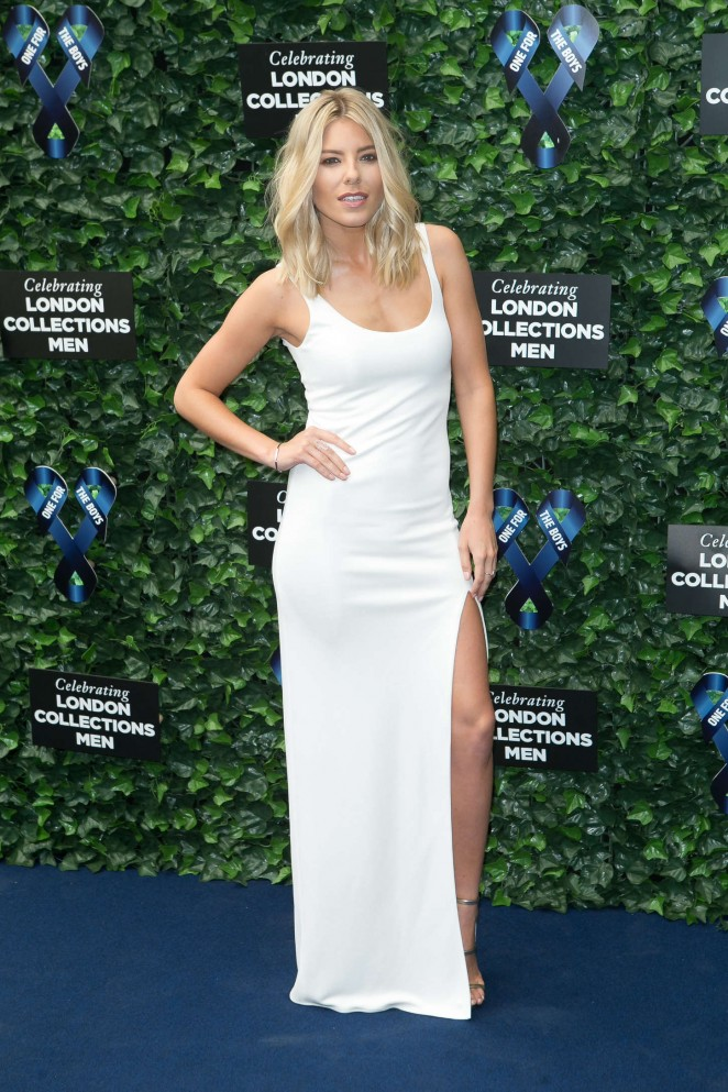 Mollie King - One For The Boys Fashion Ball 2015 in London