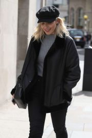 Mollie King - Out and about in London