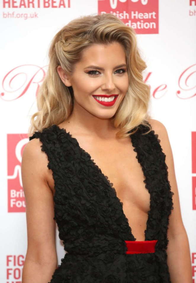 Mollie King - Roll Out The Red Ball 2015 in London