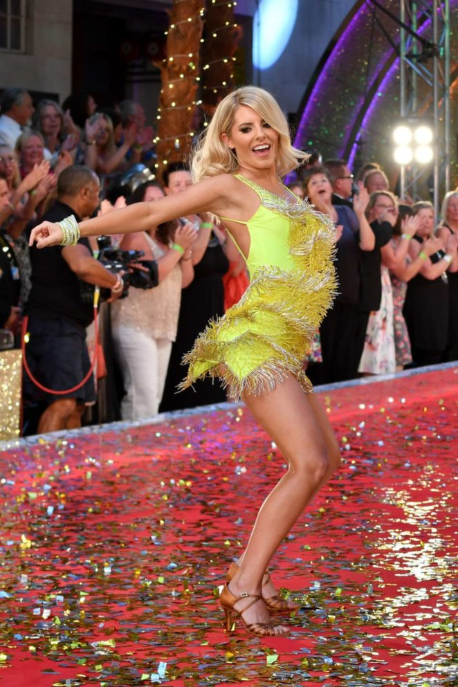 Mollie King - Strictly Come Dancing launch in London