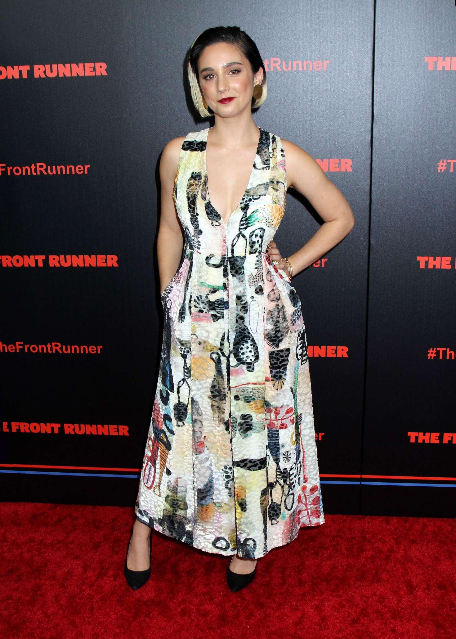 Molly Ephraim The Front Runner Premiere In New York