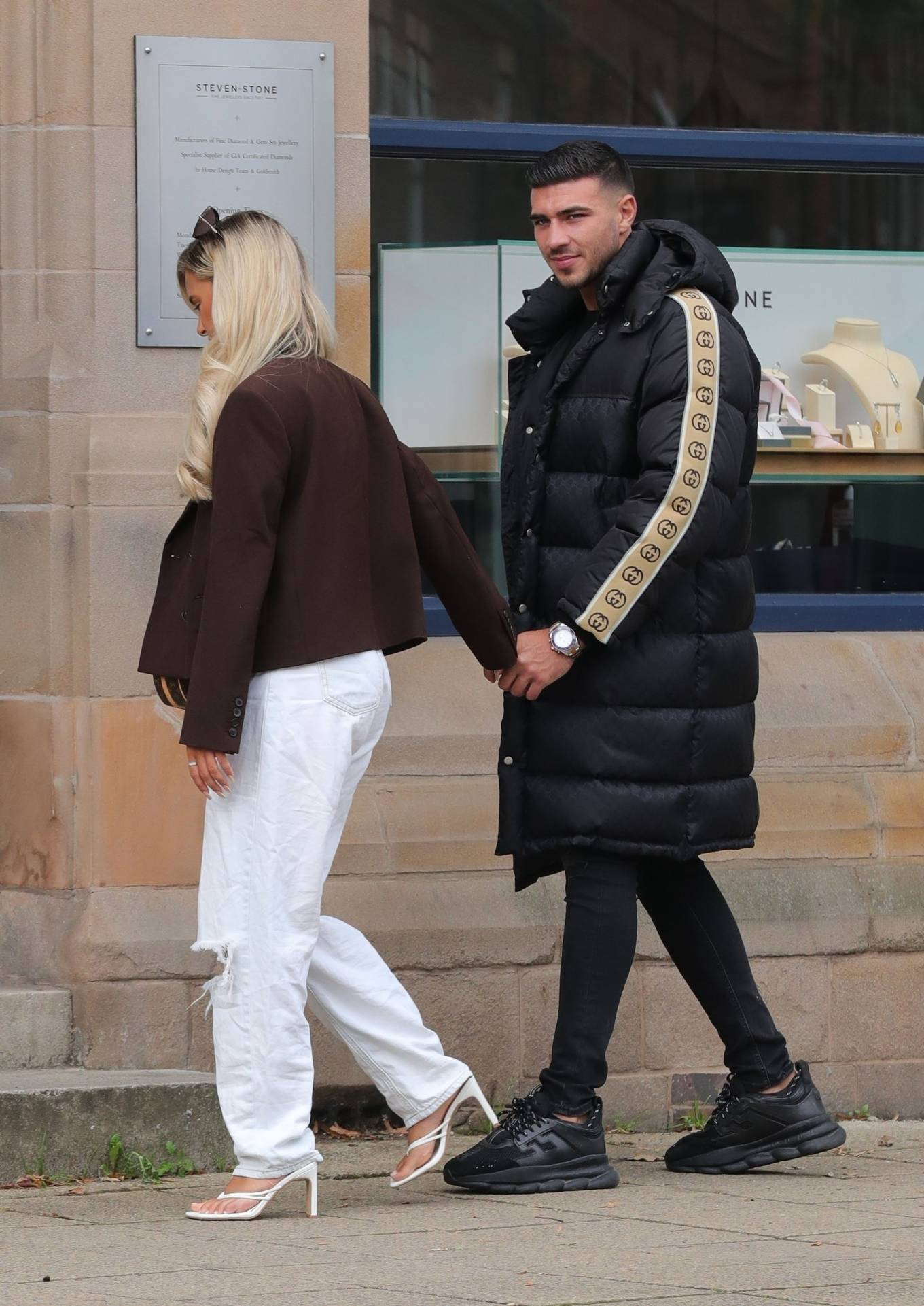 Molly-Mae Hague 2020 : Molly-Mae Hague and Tommy Fury – Seen while out in Cheshire -01