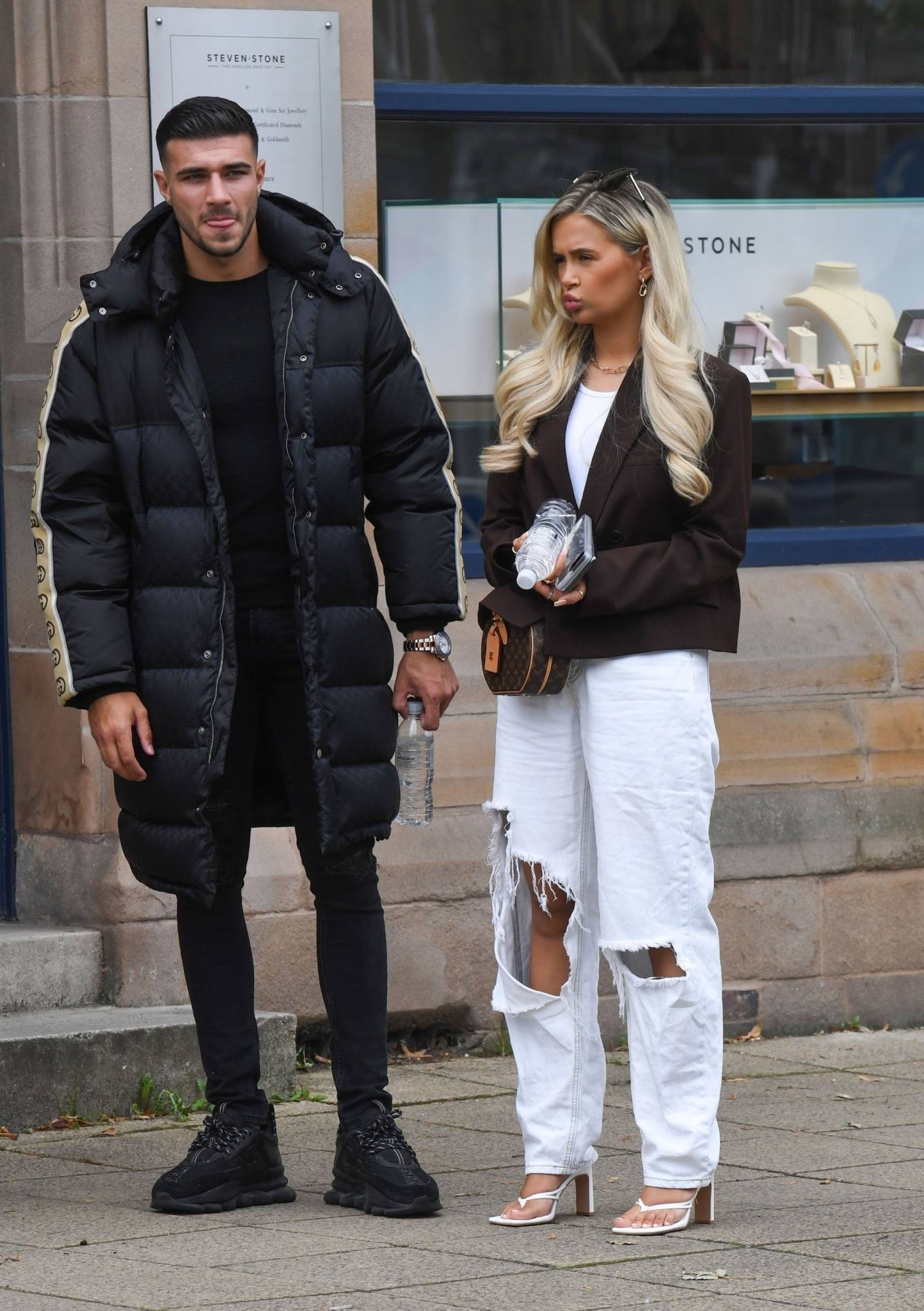 Molly-Mae Hague 2020 : Molly-Mae Hague and Tommy Fury – Seen while out in Cheshire -03