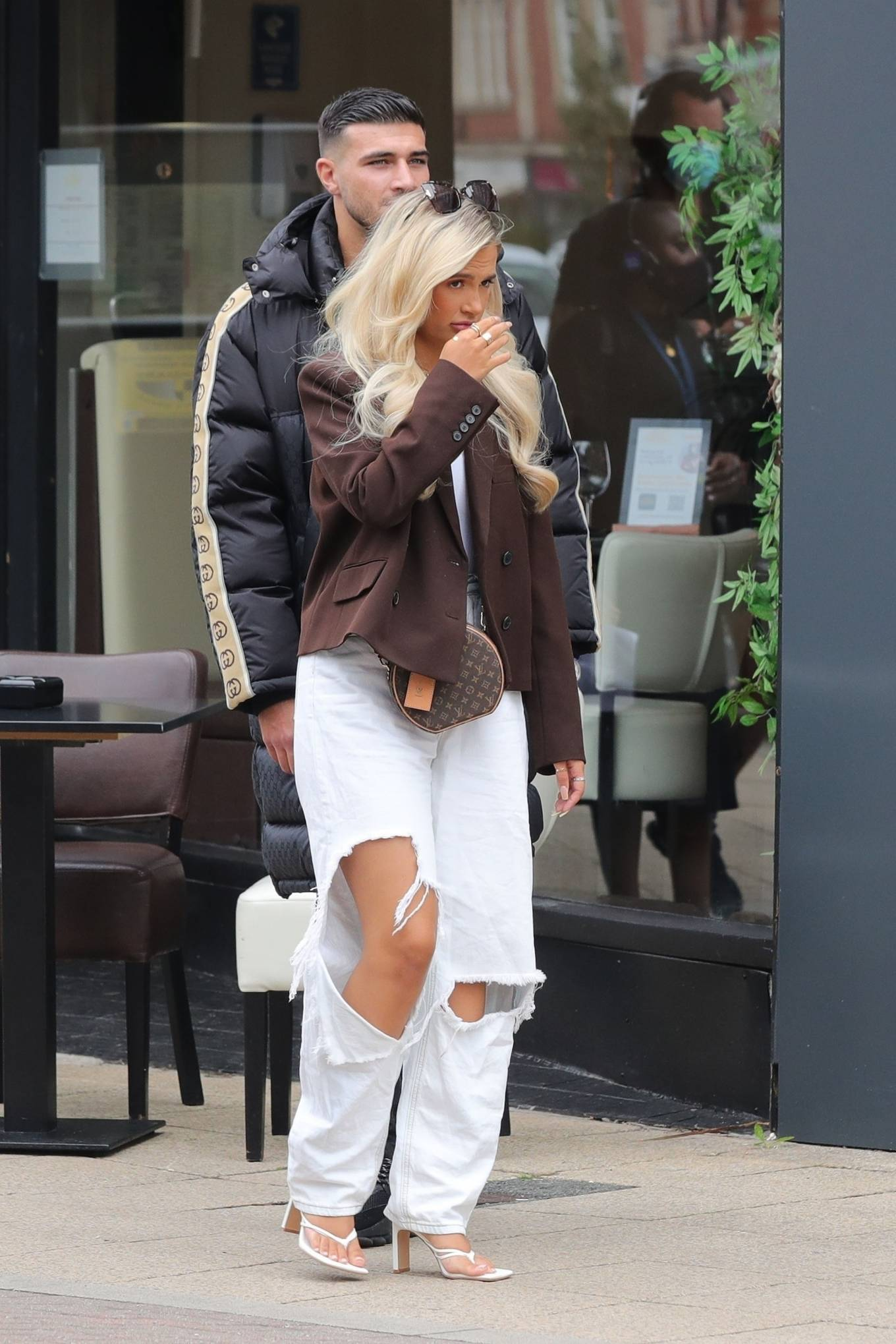 Molly-Mae Hague 2020 : Molly-Mae Hague and Tommy Fury – Seen while out in Cheshire -04