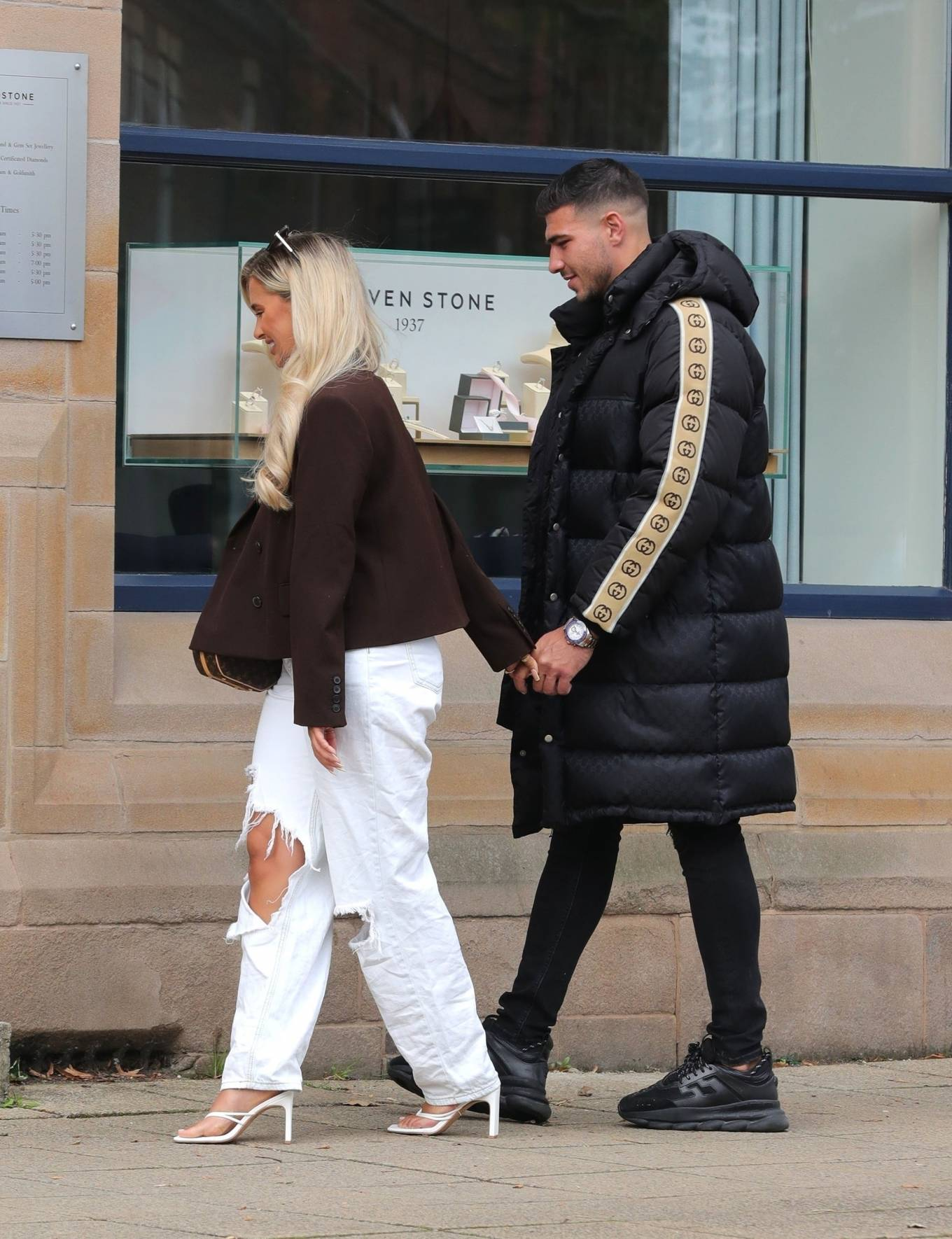 Molly-Mae Hague 2020 : Molly-Mae Hague and Tommy Fury – Seen while out in Cheshire -05