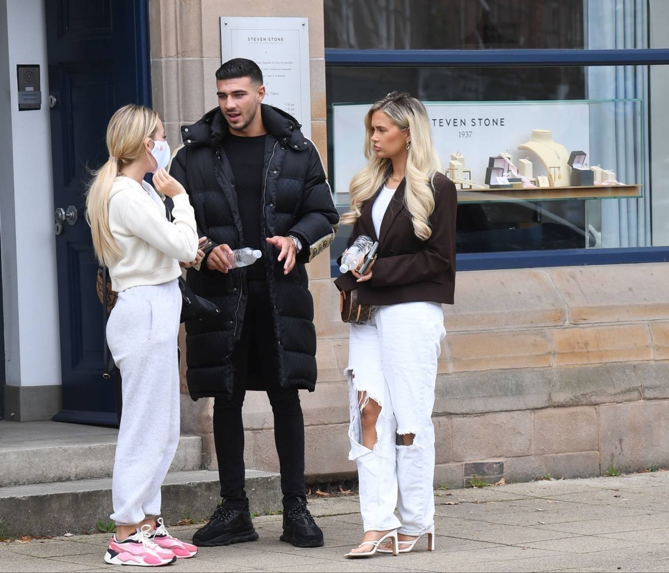 Molly-Mae Hague 2020 : Molly-Mae Hague and Tommy Fury – Seen while out in Cheshire -07
