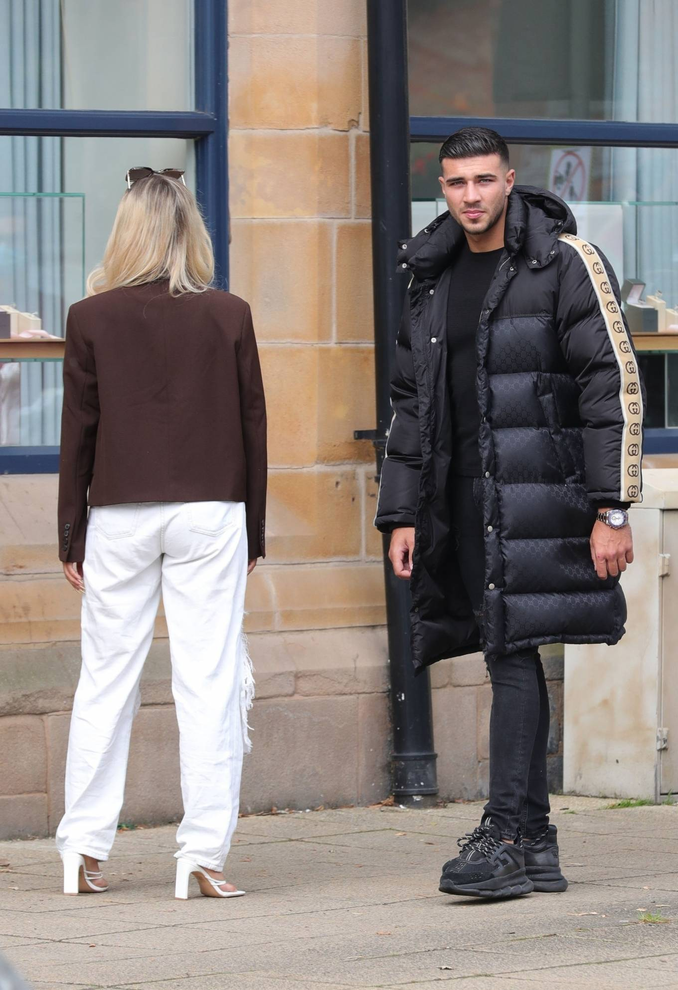 Molly-Mae Hague 2020 : Molly-Mae Hague and Tommy Fury – Seen while out in Cheshire -09