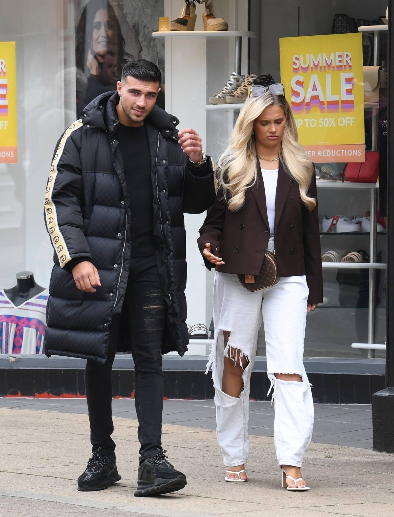 Molly-Mae Hague 2020 : Molly-Mae Hague and Tommy Fury – Seen while out in Cheshire -10