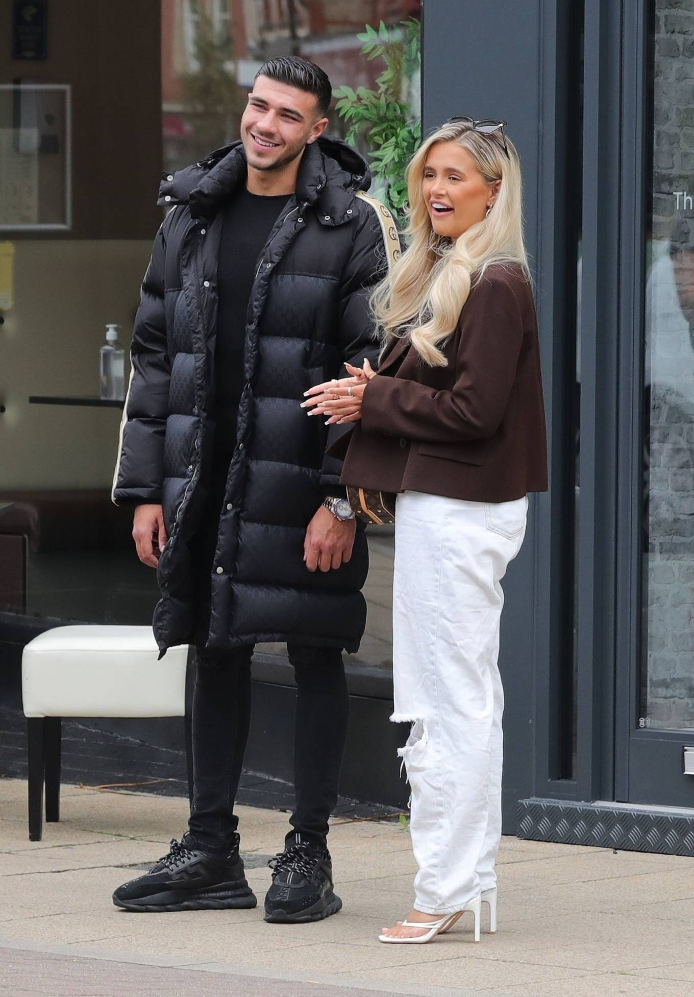 Molly-Mae Hague 2020 : Molly-Mae Hague and Tommy Fury – Seen while out in Cheshire -13