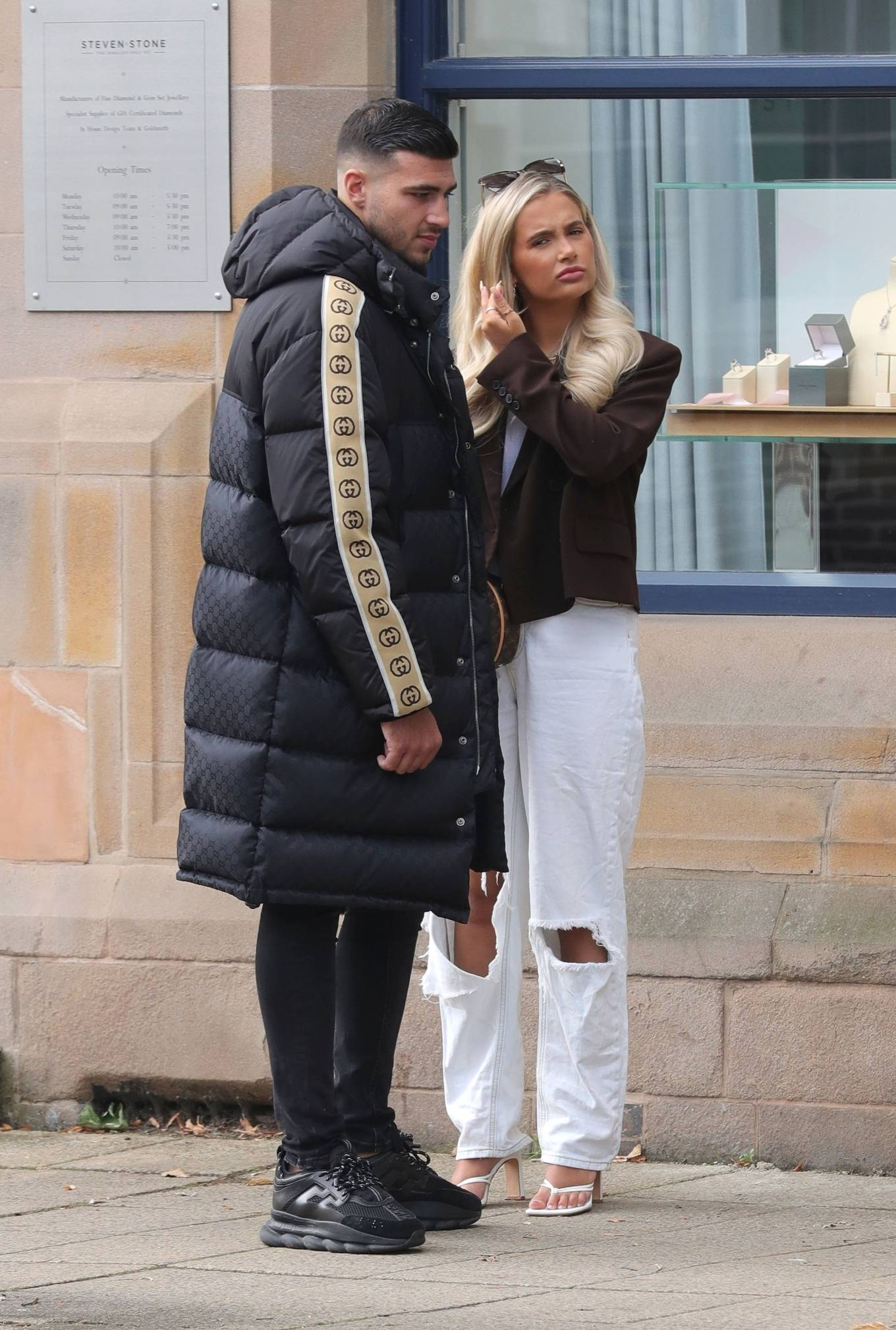 Molly-Mae Hague 2020 : Molly-Mae Hague and Tommy Fury – Seen while out in Cheshire -14
