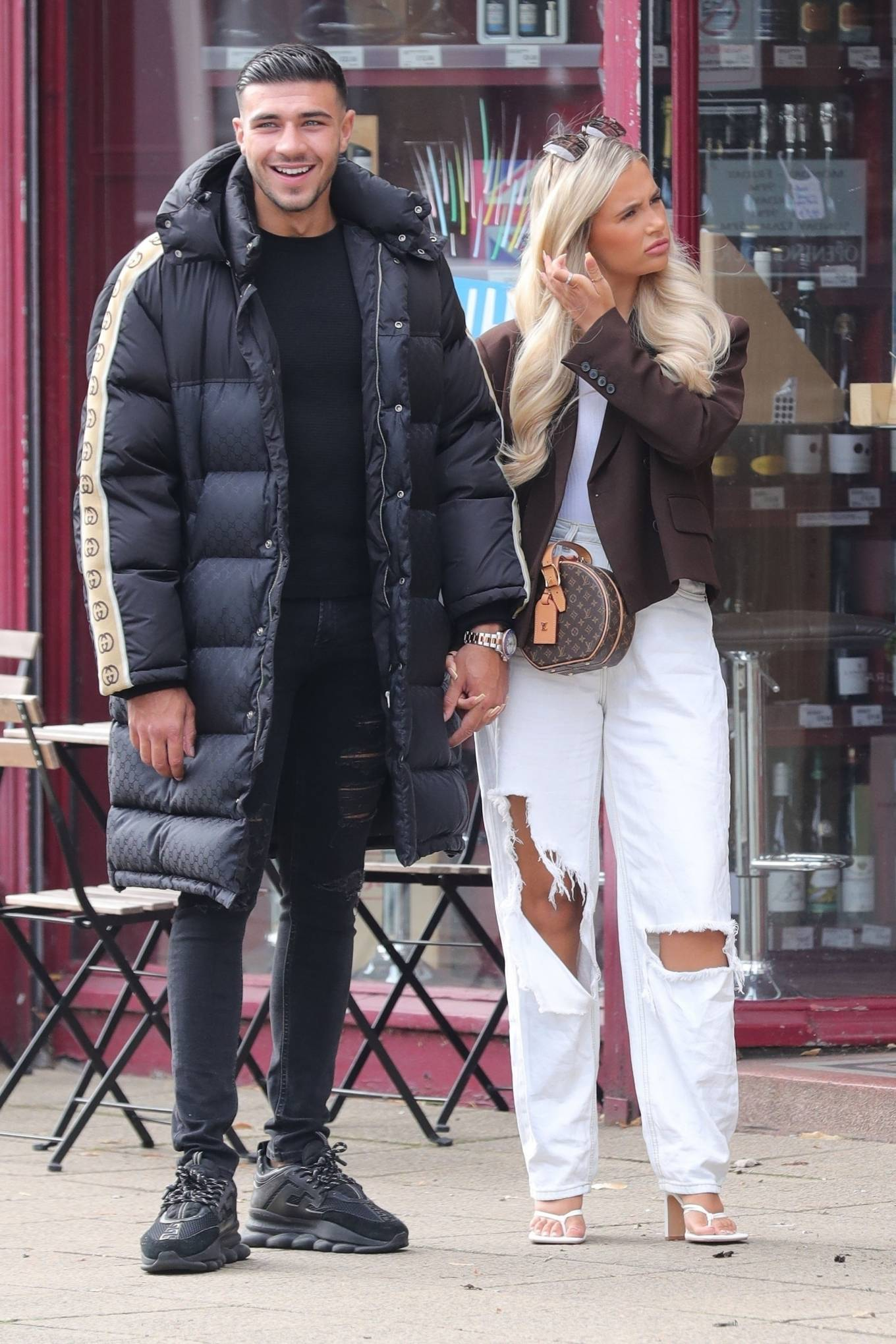 Molly-Mae Hague 2020 : Molly-Mae Hague and Tommy Fury – Seen while out in Cheshire -18