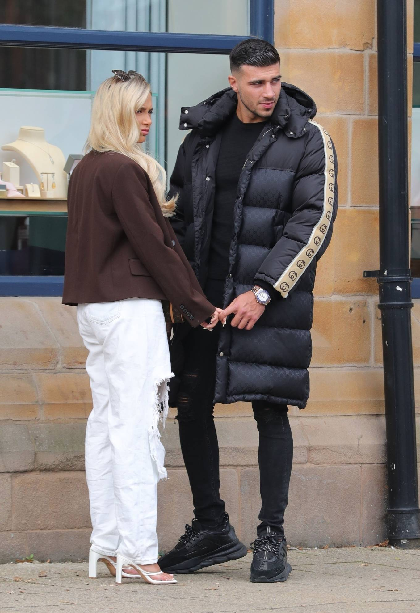 Molly-Mae Hague 2020 : Molly-Mae Hague and Tommy Fury – Seen while out in Cheshire -20