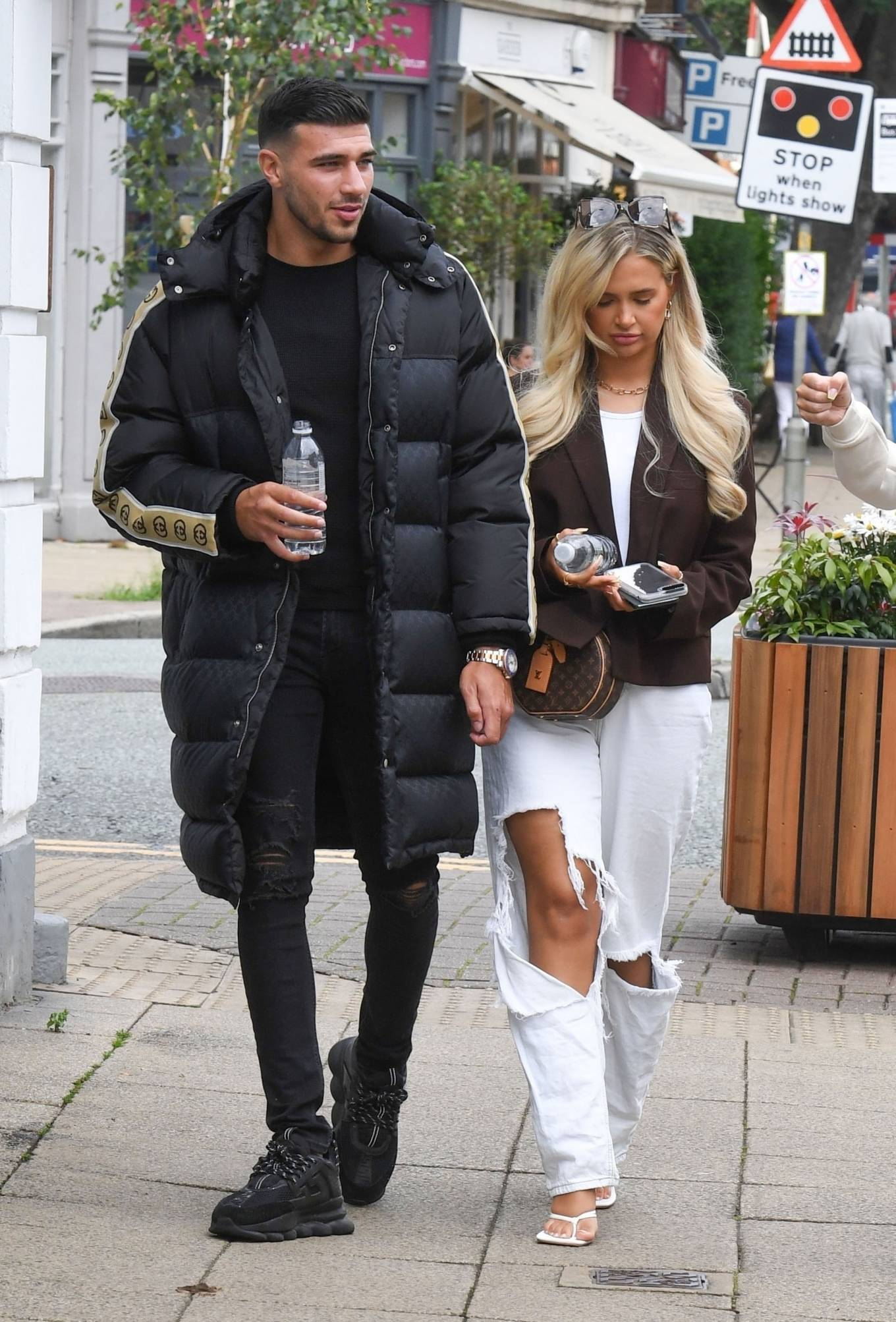 Molly-Mae Hague 2020 : Molly-Mae Hague and Tommy Fury – Seen while out in Cheshire -21