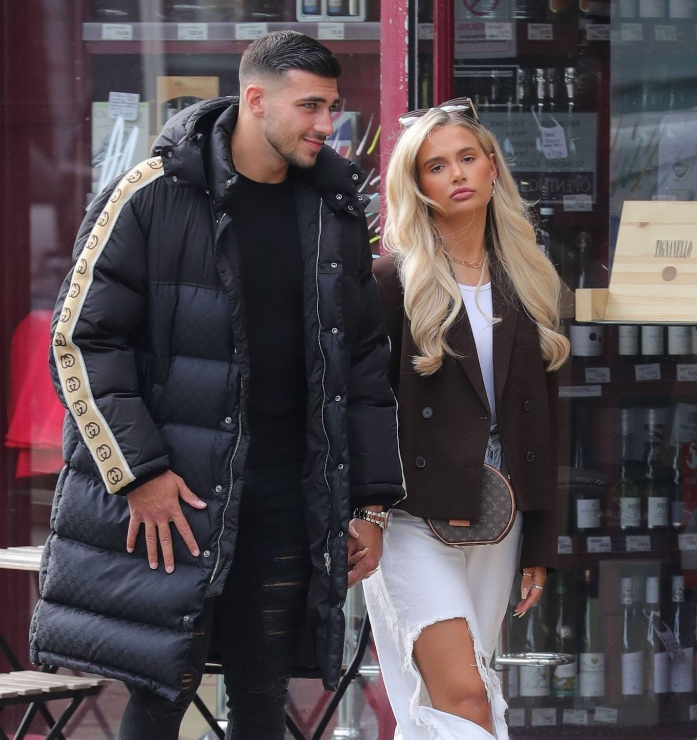 Molly-Mae Hague 2020 : Molly-Mae Hague and Tommy Fury – Seen while out in Cheshire -22