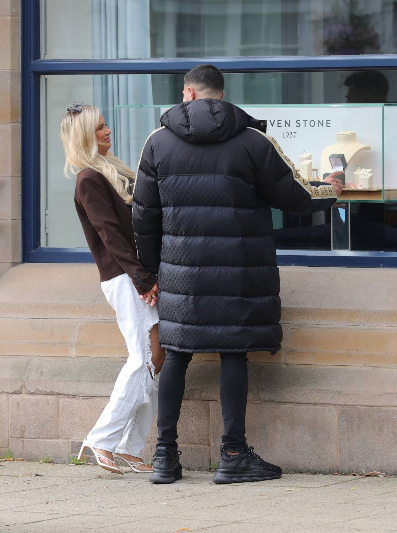 Molly-Mae Hague 2020 : Molly-Mae Hague and Tommy Fury – Seen while out in Cheshire -23