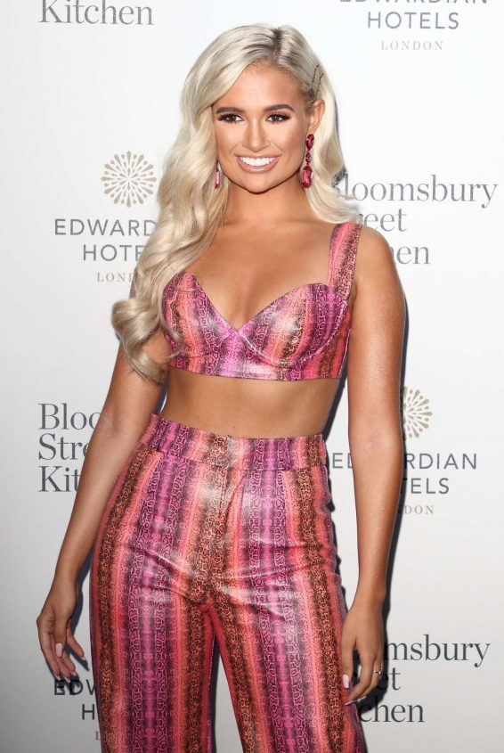 Molly Mae Hague - Bloomsbury Street Kitchen Restaurant Launch Party in London