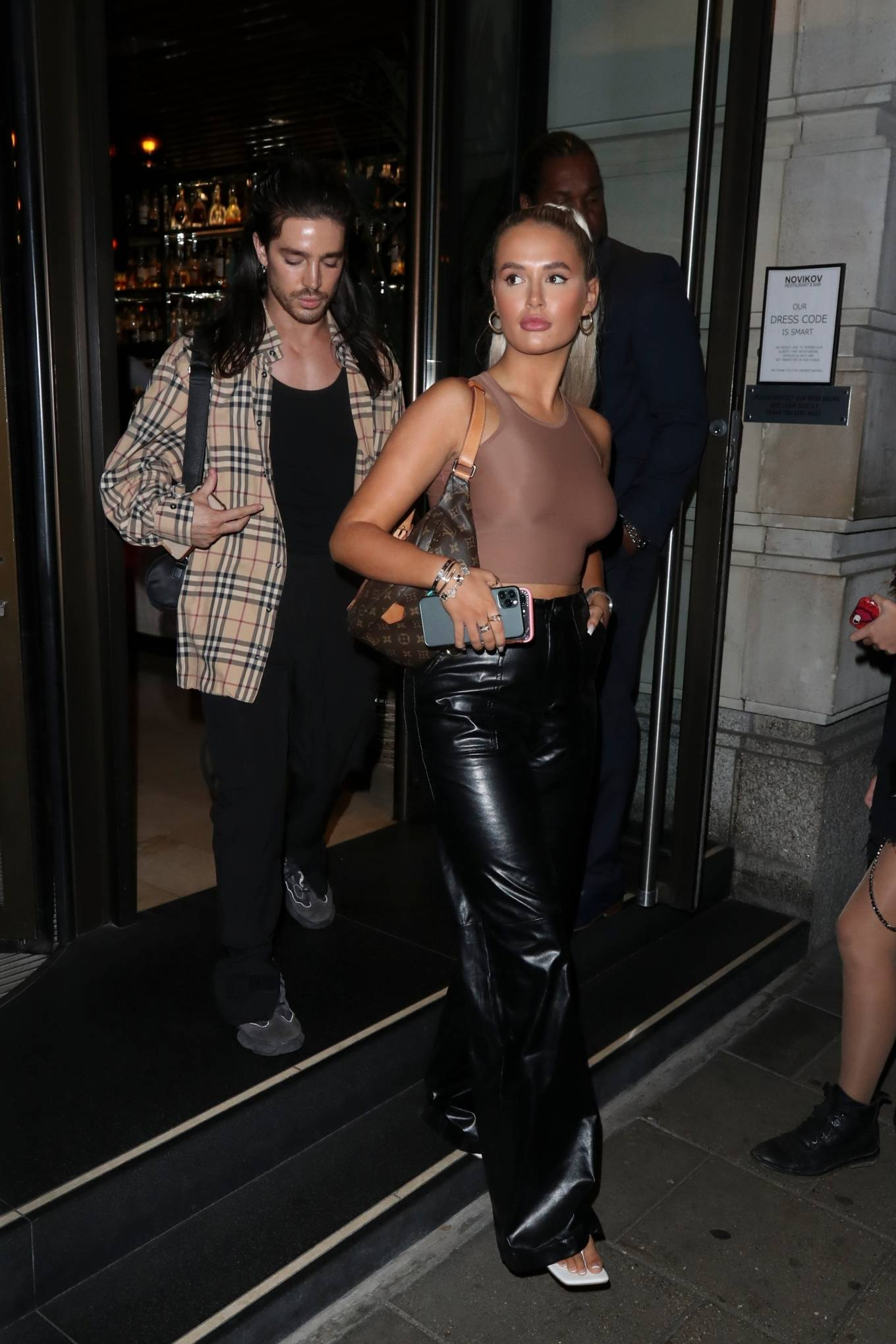 Molly-Mae Hague 2020 : Molly-Mae Hague – Nightout with friends at Novikov Mayfair in London-12