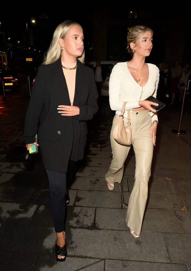 Molly Mae Hague - Pictured at The Ivy Restaurant in Manchester
