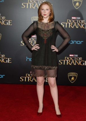 Molly Quinn - 'Doctor Strange' Premiere in Hollywood